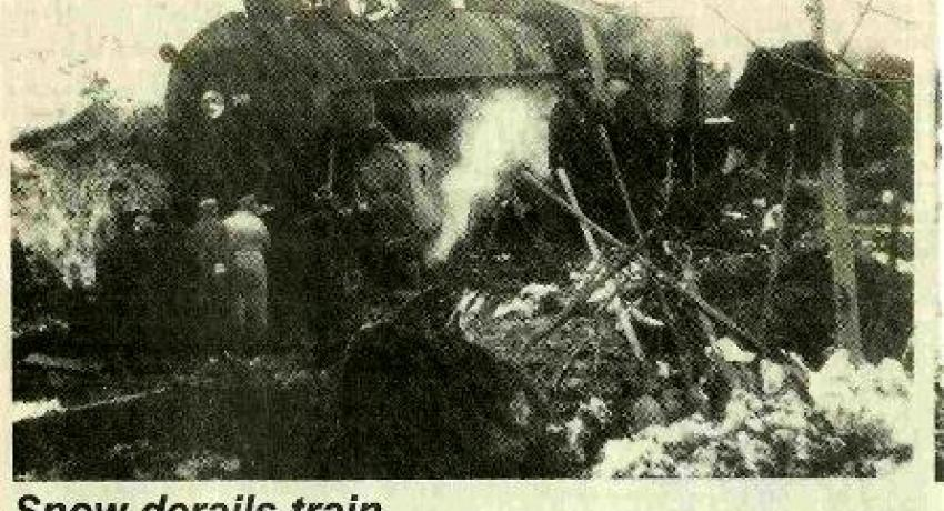 Steam Engine Derailment