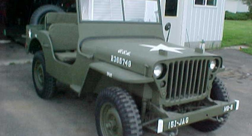 1944 GPW that we restored for a former JAG officer.